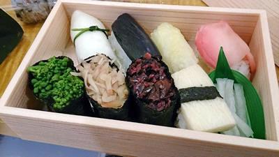 京漬物寿司2
