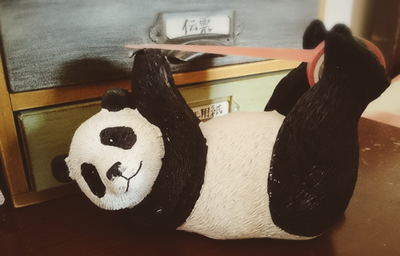 パンダのテープカッター