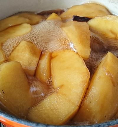 林檎の珈琲コンポート3