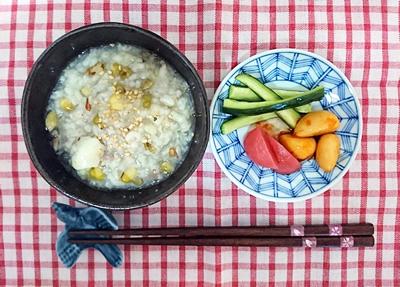 緑豆百合粥
