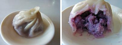 天然紫芋小籠