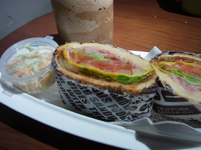cafe NEW YORK SANDWICH5