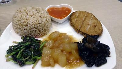 泰式素鱈魚套餐