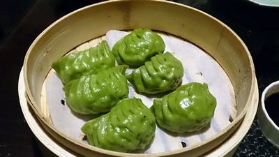 翡翠蒸餃1