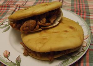 韓国風味里脊肉餅