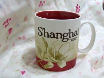スタバ2008上海マグ1
